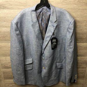 Joseph Abboud Suits & Blazers - JOE Joseph Abboud 52R Blue Tic Slim Fit Sport Coat